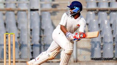 Iqbal Abdulla begins his Ranji Trophy campaign with century