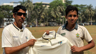 Upcoming city teams given custom whites as sweet surprise by T20 Mumbai